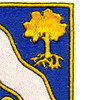 143rd Infantry Regiment Patch   Upper Right Quadrant