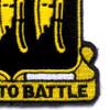 777th Field Artillery Battalion Patch   Lower Right Quadrant