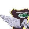 140th Aviation Transport Company Patch   Upper Left Quadrant