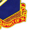 76th Field Artillery Regiment Patch   Lower Right Quadrant