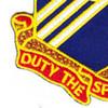 76th Field Artillery Regiment Patch   Lower Left Quadrant