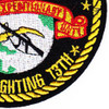 13th Marine Expeditionary Unit Patch The Fighting 13th   Lower Right Quadrant
