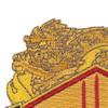 13th Finance Group Crest Patch | Upper Left Quadrant