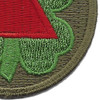 13th Corps Patch WWII | Lower Right Quadrant