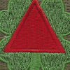 13th Corps Patch WWII | Center Detail