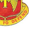 76th Anti-Aircraft Artillery Battalion Patch   Lower Right Quadrant