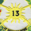 13th Cavalry Regiment Patch | Center Detail
