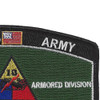 13Th Armored Division Military Occupational Specialty MOS Patch | Upper Right Quadrant