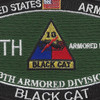 13Th Armored Division Military Occupational Specialty MOS Patch | Center Detail
