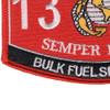 1391 Bulk Fuel Specialist MOS Patch | Lower Left Quadrant