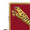 138th Armored Cavalry Regiment Patch | Upper Left Quadrant