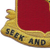 138th Armored Cavalry Regiment Patch | Lower Left Quadrant