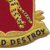 138th Armored Cavalry Regiment Patch | Lower Right Quadrant
