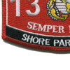 1381 Shore Party Man MOS Patch | Lower Left Quadrant