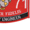 1371 Combat Engineer MOS Patch | Lower Right Quadrant