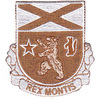 136th Infantry Regiment Patch - Desert
