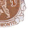 136th Infantry Regiment Patch - Desert | Lower Right Quadrant