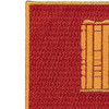 136th Field Artillery Battalion Patch-PUSH ON | Upper Left Quadrant