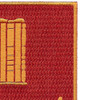 136th Field Artillery Battalion Patch-PUSH ON | Upper Right Quadrant