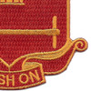 136th Field Artillery Battalion Patch-PUSH ON | Lower Right Quadrant