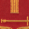 136th Field Artillery Battalion Patch-PUSH ON | Center Detail