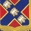 135th Field Artillery Regiment Patch | Center Detail