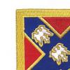 135th Field Artillery Regiment Patch | Upper Left Quadrant