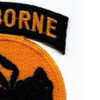 135th Airborne Division Patch Ghost WWII   Upper Right Quadrant