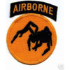 135th Airborne Division Patch Ghost WWII