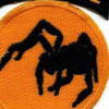 135th Airborne Division Patch Ghost WWII   Center Detail