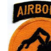 135th Airborne Division Patch Ghost WWII | Upper Left Quadrant