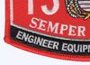 1345 Engineer Equipment Operator MOS Patch | Lower Left Quadrant