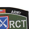75th Regimental Combat Team Military Occupational Specialty MOS Rating Patch 1954-1956   Upper Right Quadrant