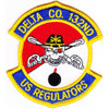 132nd Aviation Cavalry Regiment Delta Company Patch