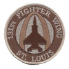 131st Fighter Wing Missouri Air National Guard Patch Hook And Loop