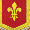 131st Field Artillery Battalion/Regiment Patch | Center Detail