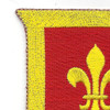 131st Field Artillery Battalion/Regiment Patch | Upper Left Quadrant