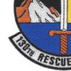 130th Rescue Squadron patch | Lower Left Quadrant
