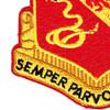 130th Field Artillery Regiment Patch | Lower Left Quadrant