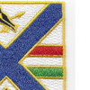 130th Infantry Regiment Patch | Upper Right Quadrant