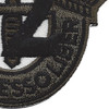 12th Special Forces Group Crest OD Green Black 12 Patch | Lower Right Quadrant