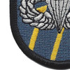 12th Special Forces Group Airborne MPB Flash Patch | Lower Left Quadrant