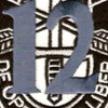 12th Special Forces Group Crest Blue 12 Patch | Center Detail