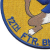 12th Fighter Bomber Squadron Patch | Lower Left Quadrant