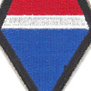 12th Army Group Patch | Center Detail