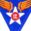 12th Air Force Shoulder Patch | Center Detail