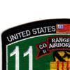 75th Ranger Regiment Headqaurter Company Long Range Patrol Military Occupational Specialty MOS Rating Patch 11 B Infantry   Upper Left Quadrant