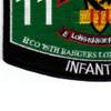 75th Ranger Regiment Headqaurter Company Long Range Patrol Military Occupational Specialty MOS Rating Patch 11 B Infantry   Lower Left Quadrant