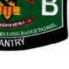75th Ranger Regiment Headqaurter Company Long Range Patrol Military Occupational Specialty MOS Rating Patch 11 B Infantry   Lower Right Quadrant