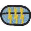 12th Airborne Special Forces Group Patch Oval